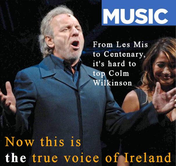 The True Voice of Ireland ... La Voix de l'Irlande