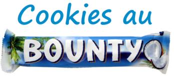 Cookies au Bounty