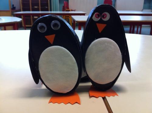 les pingouins en boite de caprice des dieux