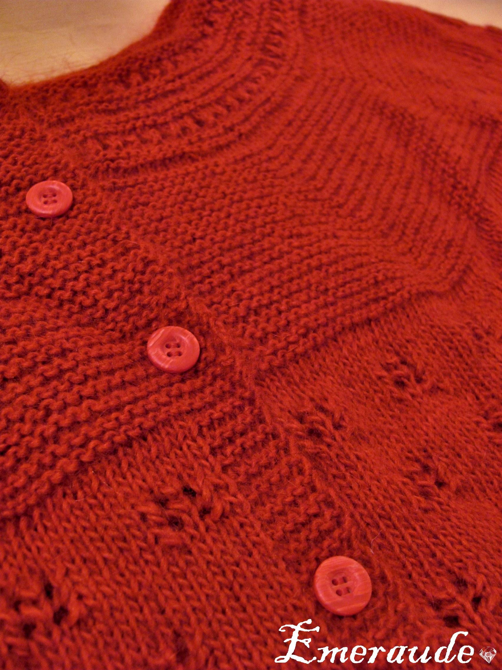 Tricot: gilet Drops Design (2)