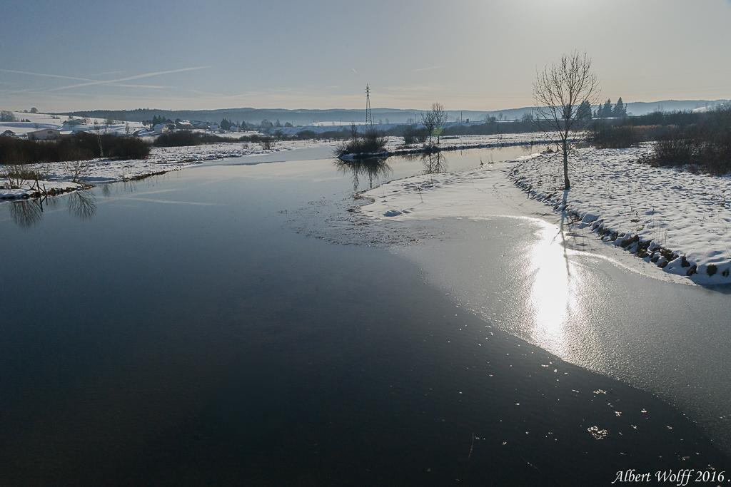 Neige et eau