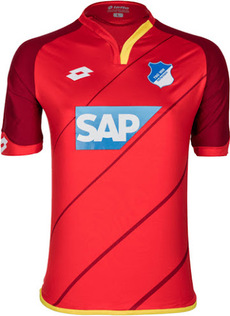 Nouveau Maillot Hoffenheim Troisieme 2016 2017 pas cher