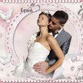 Tuto espace Tine Vive les mariés