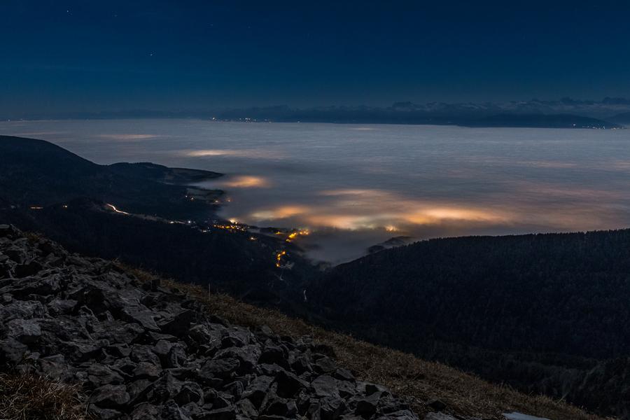Mont Rond - la nuit