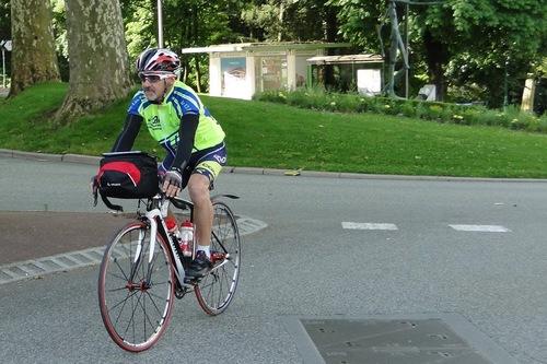 Tour cyclotouriste FFCT.