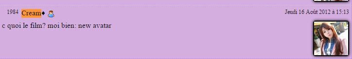 Mes commentaires de kikoo #1 : sur le blog de Illisana