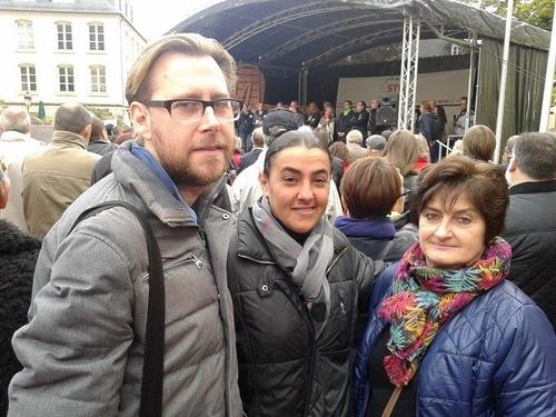 Le Forum à la manifestation du 10 octobre à Luxembourg contre les accords de libre-échange transatlantiques