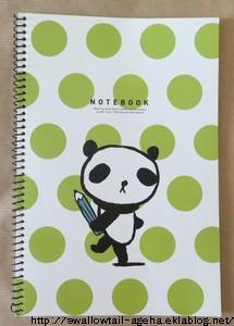 carnet panda artbox