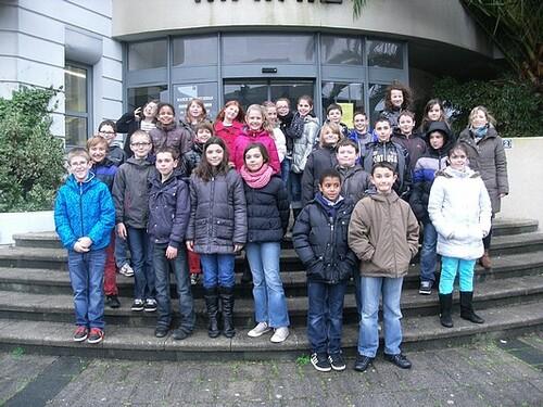 La visite de la mairie et l'élection du conseil municipal jeunes