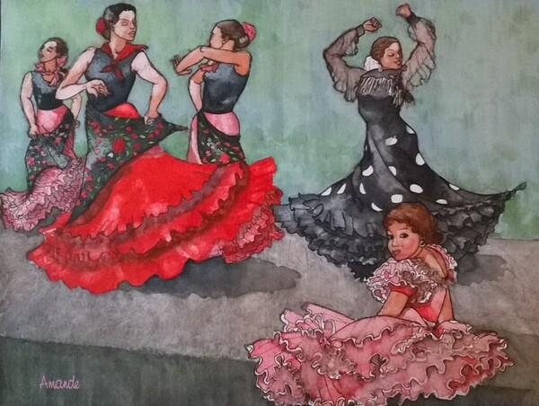 Jeudi - Deux version du flamenco