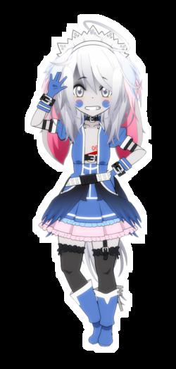 [Kisekae - Crystal] Blue Crystal (Nostalogic)