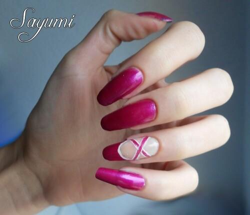 Nail Art French Ballerine