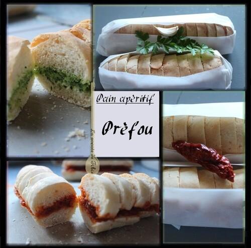 Préfou (petits pains apéritif)