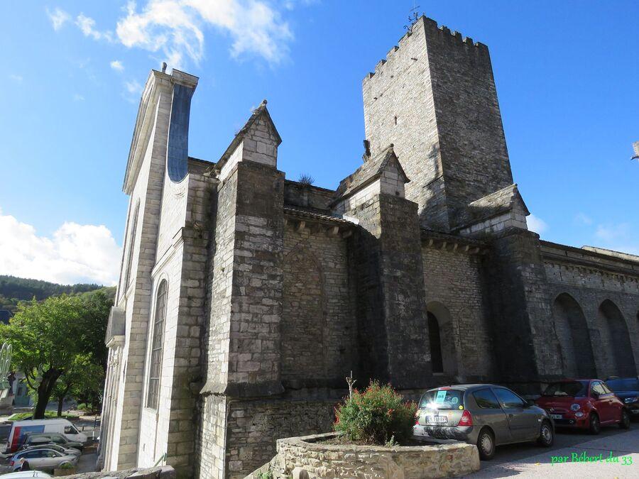 l'église de St Pons de Thomières