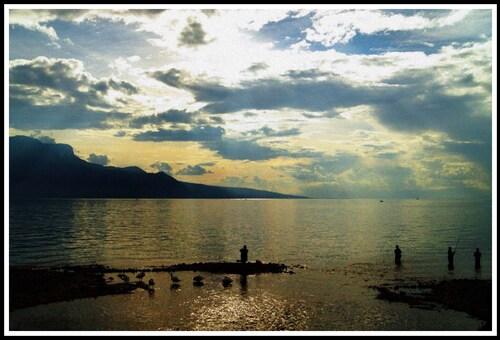 Vevey: promenade au bord du lac Léman