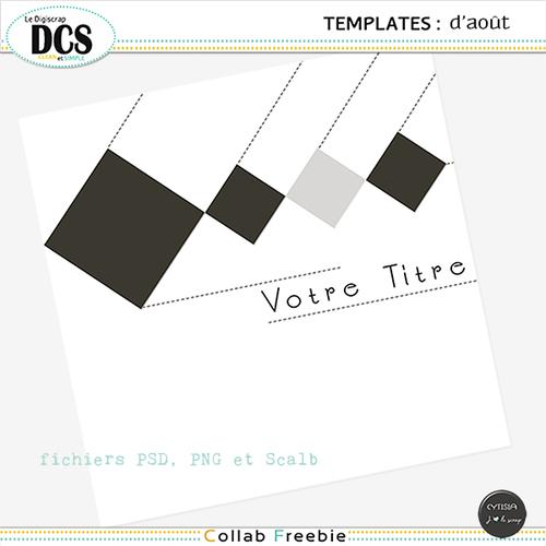 DCS et le template mensuel