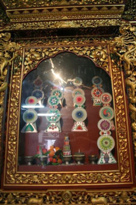 le monastère tibétain lié au stupa de Bothnath