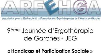 9 ème Journée Ergothérapie Garches - Handicap et Participation Sociale - (4 février 2016)