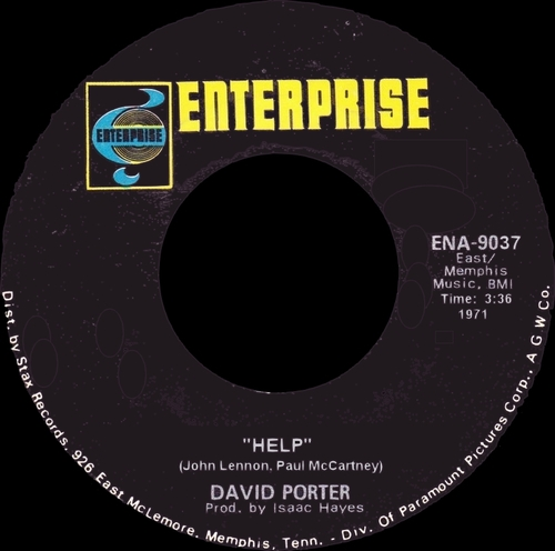 "David Porter "" David Porter...Into A Real Thing "" Enterprise Records ENS-1012 [ US ]"