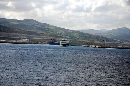 Arrivée sur Tanger Med