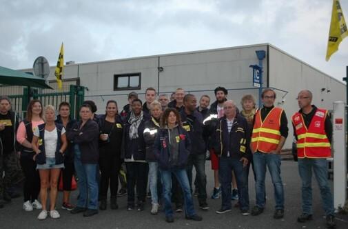 Grève à la poste du Havre