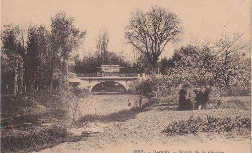La Versoix et l'embouchure