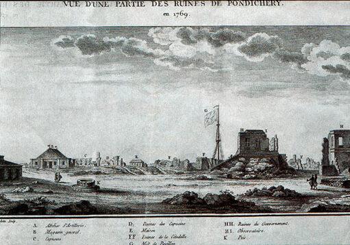 De Tempête et d'Espoir, tome 2, Pondichéry ; Marina Dédéyan