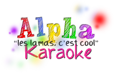 Logo Alpha Karaoke - Audition d'un Chorus FR