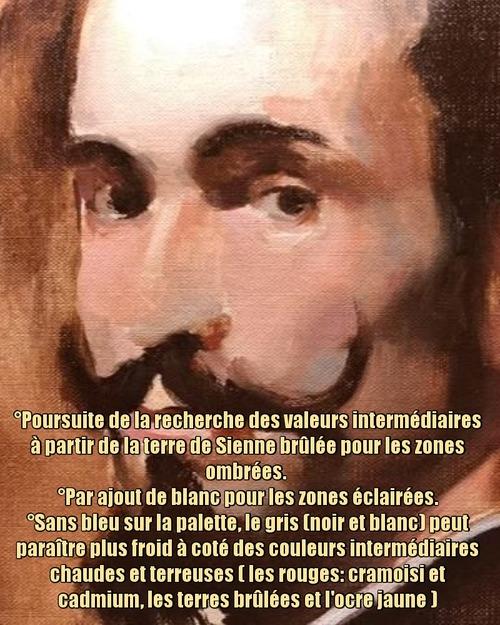 """Dessin et peinture - vidéo 3545 : Comment peindre un portrait réalisé par Vélasquez (1599-1660) - portrait d'un homme """"José Nieto"""" vers 1635 ? - huile, acrylique."""