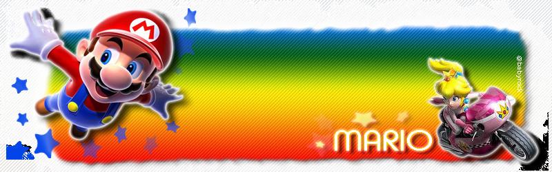 Bannière Mario
