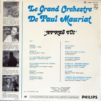 Paul Mauriat, 6ème volet