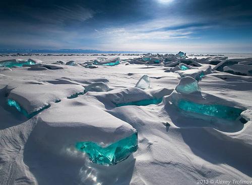Vous voulez du froid...de la glace ????