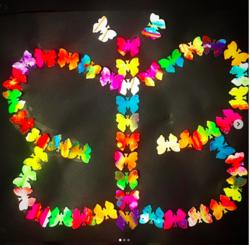 Papillon en arts visuels