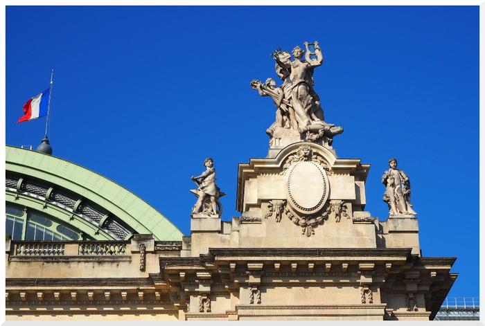Paris. Le Grand Palais.