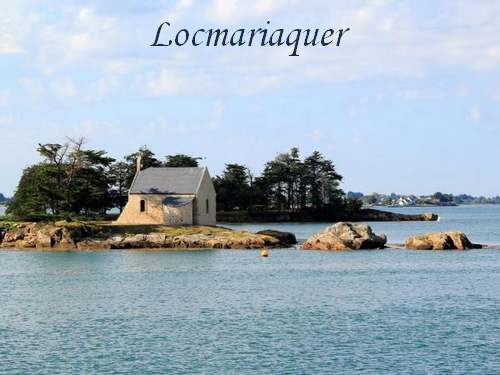 Circuit Touristique :  Golfe du Morbihan, Carnac, Quiberon....