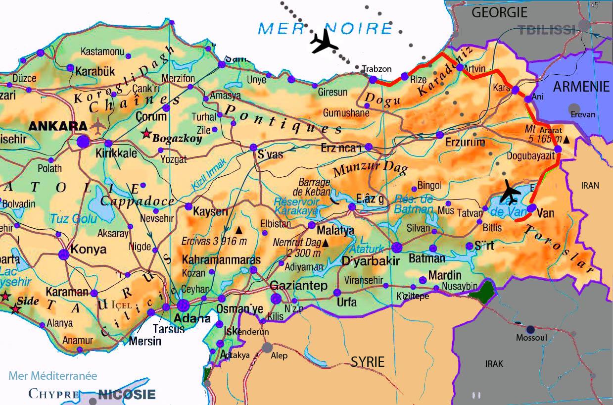autotour est turquie arménie