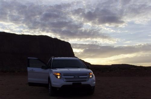 Balade en 4x4 dans Monument Valley