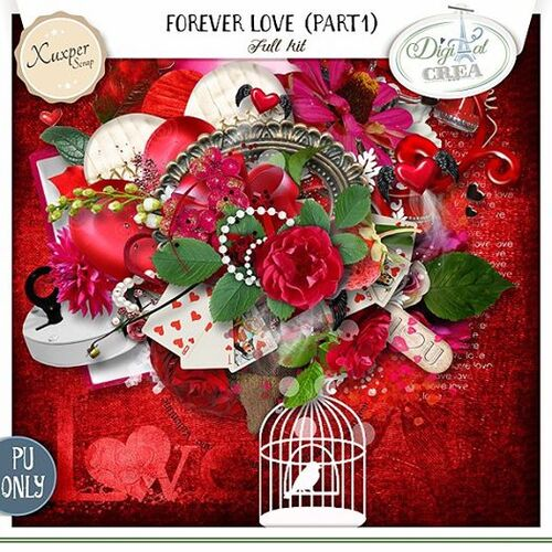 Forever Love part 1 et part 2 by Xuxper Designs