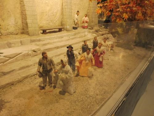 Visite d'une exposition de santons