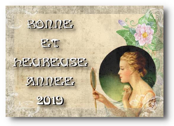 BONNE ANNEE VINTAGE 2019