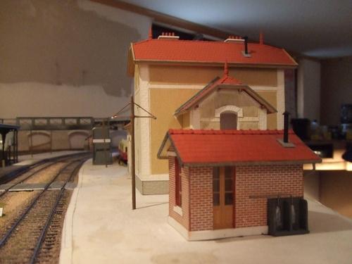 La gare de Dombasle en Argonne