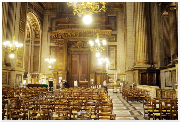 Eglise La Madeleine. Paris 3/3