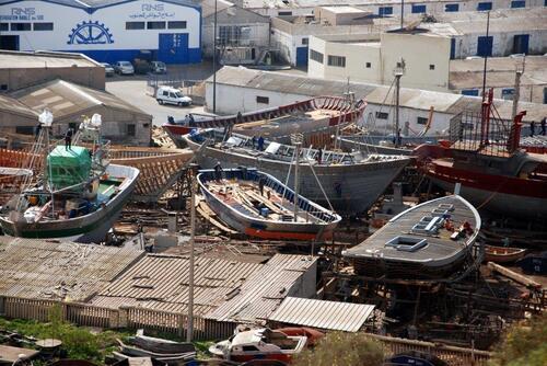 Réfection des bateaux