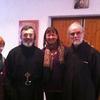 Avec Frère Nathanaël et le diacre Philippe de L'EOC