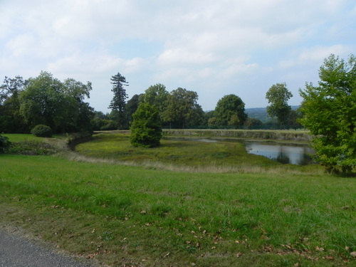 Château et parc de TREVAREZ 29