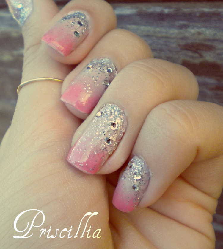 Nail art dégradé