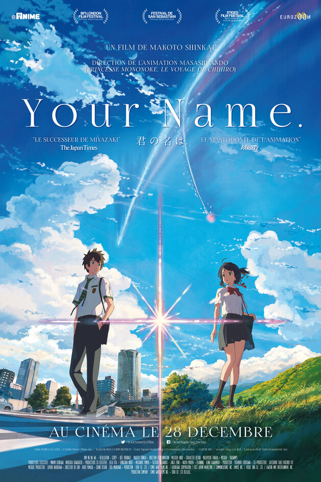 Your Name (Kimi No Na Wa) (Animé Japonais)