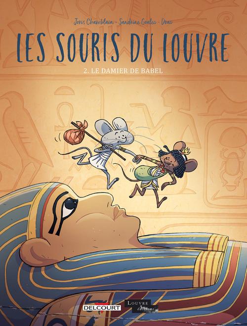 Les souris du Louvre - Tome 02 Le damier de Babel - Chamblain & Goalec & Drac