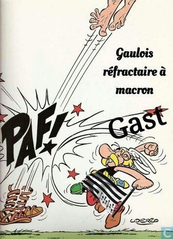 Billet Rouge-Réponse à Macron:Les « Gaulois réfractaires» ne tarderont pas à lui botter l'derrière – Par Floréal, PRCF