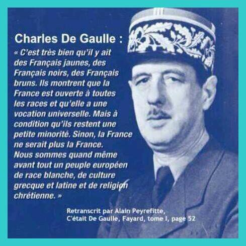 Et pourtant que ce soit Juppé ou Sarkozy ils se réclament du Gaullisme?